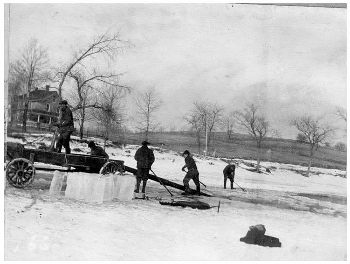 18th Century: Ice from Ponds